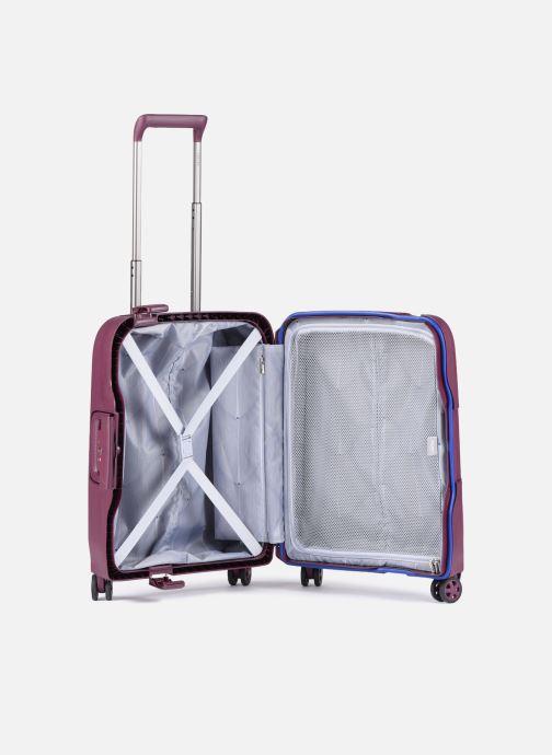 Bagagli Delsey Moncey Val Tr Cab Slim 4Dr 55 Viola immagine posteriore