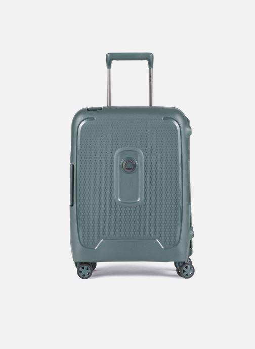 Reisegepäck Delsey Moncey Val Tr Cab Slim 4Dr 55 grün detaillierte ansicht/modell