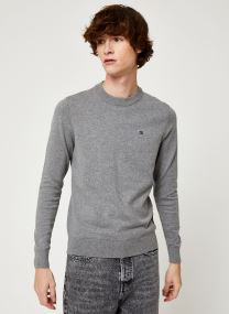 Kleding Accessoires COTTON BLEND CN EMBRO SWEATER