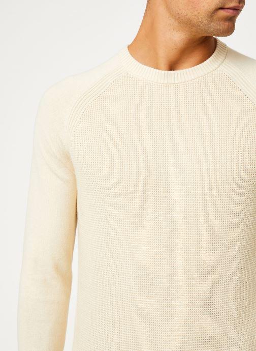 Vêtements Calvin Klein Jeans COTTON CASHMERE CN SWEATER Beige vue face