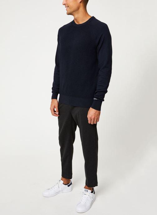 Vêtements Calvin Klein Jeans COTTON CASHMERE CN SWEATER Bleu vue bas / vue portée sac
