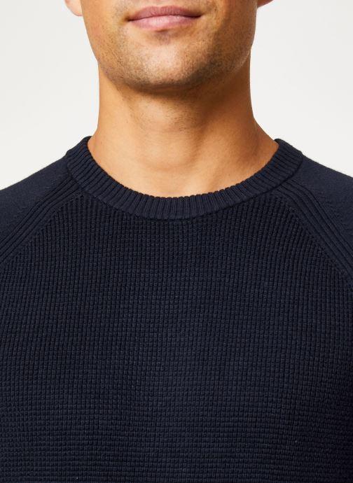 Vêtements Calvin Klein Jeans COTTON CASHMERE CN SWEATER Bleu vue face