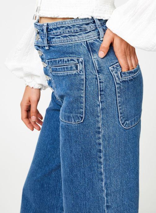 Vêtements Free People COLETTE WIDE LEG Bleu vue face