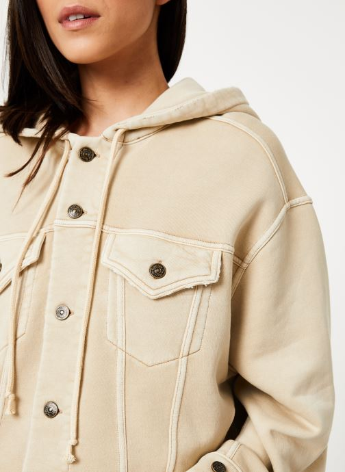 Vêtements Free People DREAMERS JACKET Beige vue face