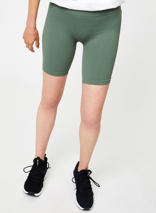 Vêtements Free People SMLS BIKE SHORT Vert vue détail/paire