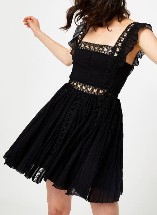 Kleding Free People VERONA DRESS Zwart detail
