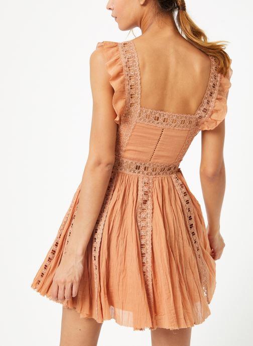 Kleding Free People VERONA DRESS Beige model
