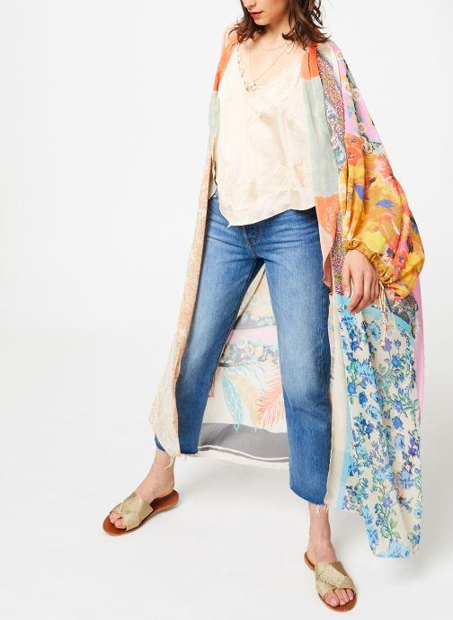 Vêtements Free People YOUR EYES CAMI Rose vue bas / vue portée sac