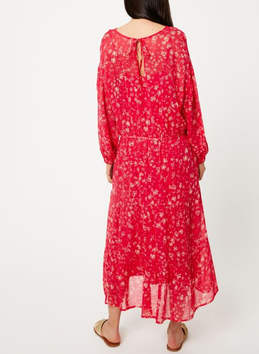 Kleding Free People WALLFLOWER MIDI Rood model
