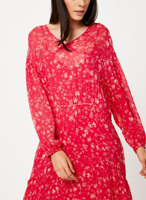Kleding Free People WALLFLOWER MIDI Rood detail