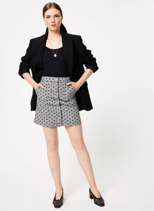 Vêtements Frnch ELIANNE Gris vue bas / vue portée sac