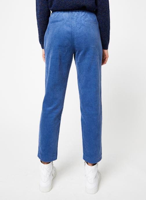 Vêtements Frnch PAULINA Bleu vue portées chaussures