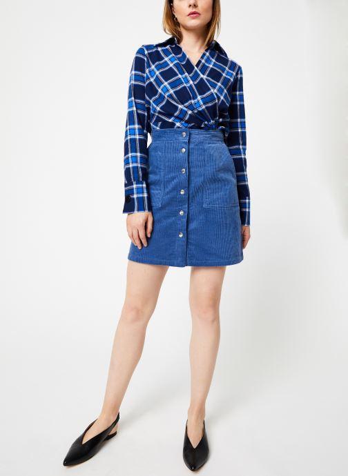 Vêtements Frnch ELIANORE Bleu vue bas / vue portée sac