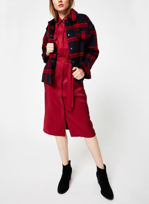 Vêtements Frnch SORYA Rouge vue bas / vue portée sac