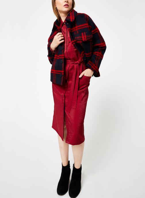 Vêtements Frnch ADONIA Rouge vue bas / vue portée sac