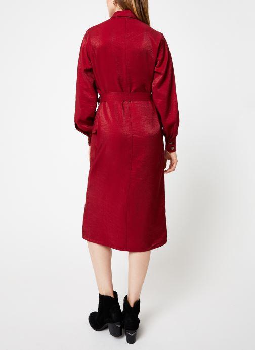 Vêtements Frnch ADONIA Rouge vue portées chaussures