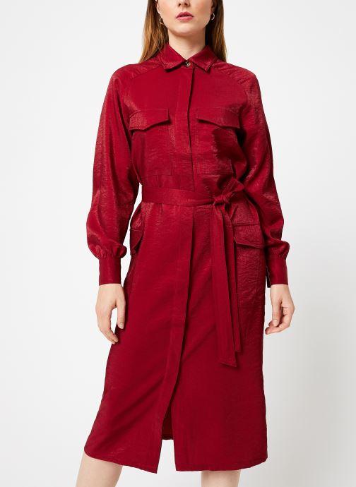 Vêtements Frnch ADONIA Rouge vue droite