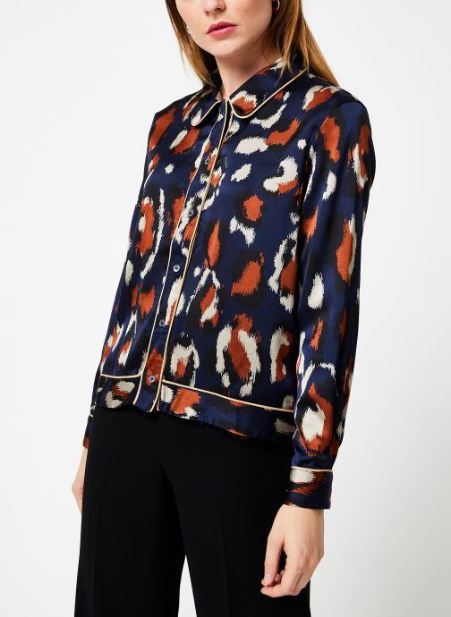 Vêtements Frnch CYPRIELLE Bleu vue droite