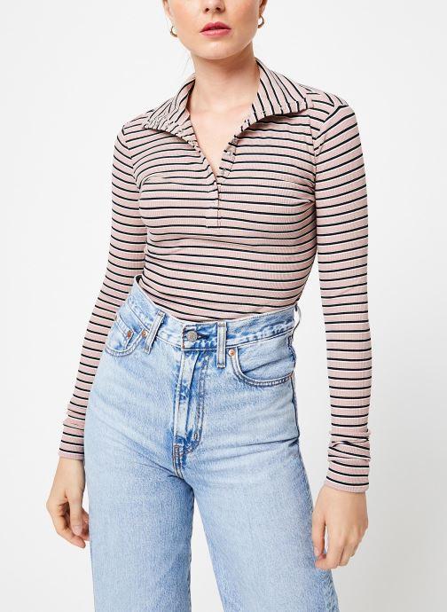 Vêtements Frnch CYRA Rose vue détail/paire