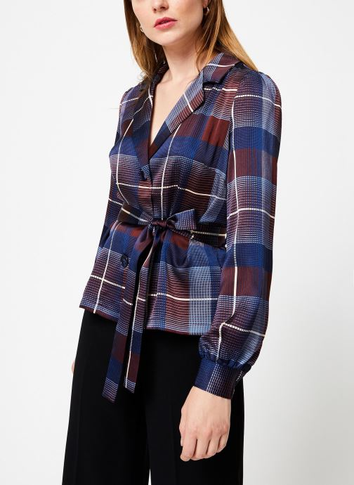 Vêtements Frnch CALLISTA Bleu vue droite