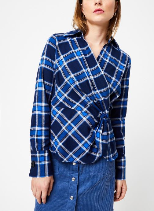 Vêtements Frnch COLLIE Bleu vue droite