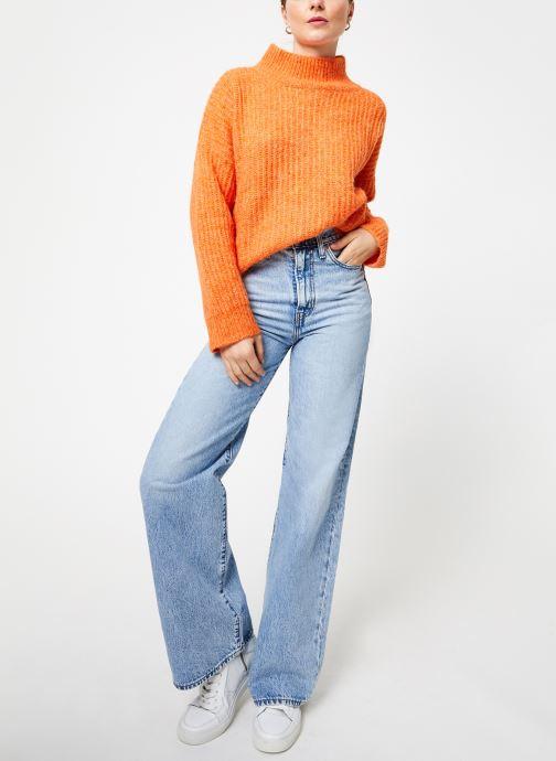 Vêtements Frnch NEOLA Orange vue bas / vue portée sac
