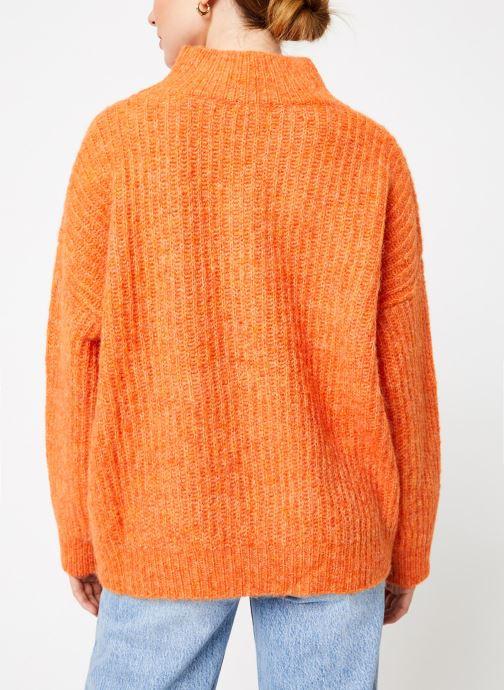 Vêtements Frnch NEOLA Orange vue portées chaussures