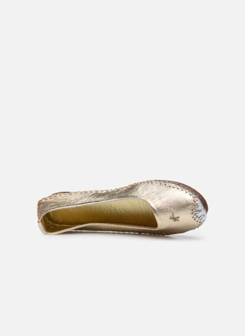 Ballerinas Moon Paris Milagold gold/bronze ansicht von links