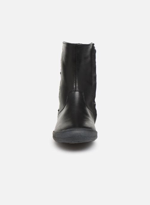 Bottes Noël Elsy Noir vue portées chaussures