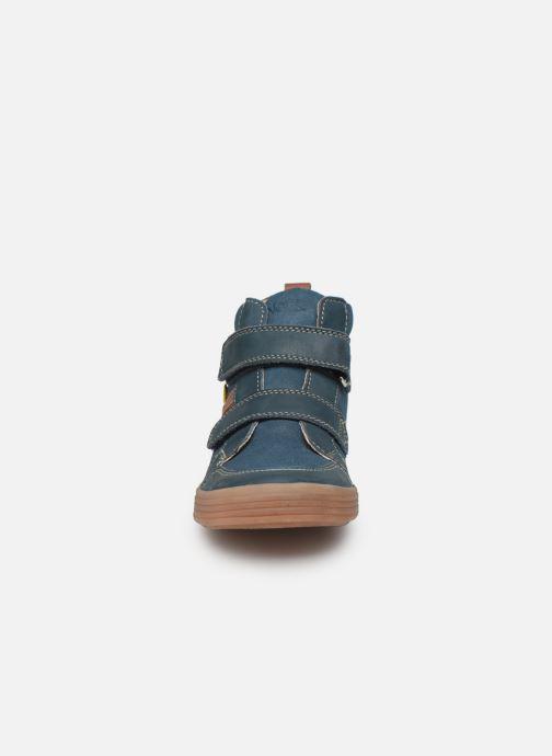 Baskets Noël Raoul Bleu vue portées chaussures
