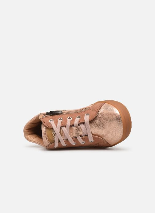 Bottines et boots Noël Mini Bienna Rose vue gauche