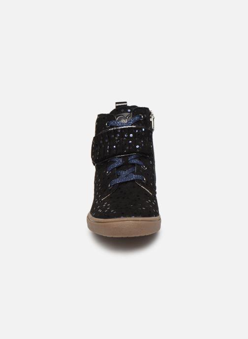 Baskets Noël Joana Noir vue portées chaussures