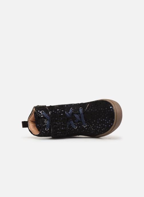 Sneaker Noël Joana schwarz ansicht von links
