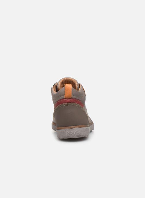 Sneaker Noël Oki grau ansicht von rechts