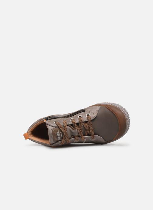 Sneaker Noël Oki grau ansicht von links