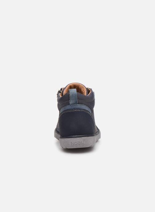 Sneakers Noël Oki Azzurro immagine destra