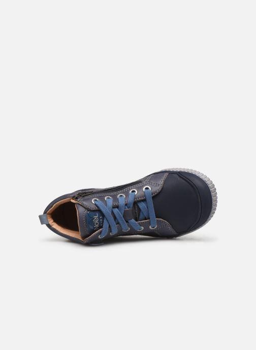 Sneakers Noël Oki Azzurro immagine sinistra