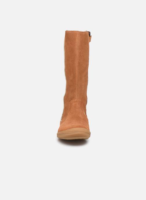 Stiefel Minibel Nillie braun schuhe getragen