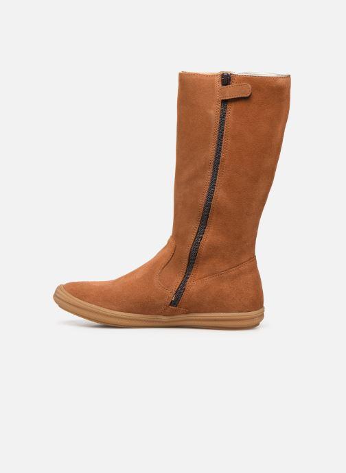 Stiefel Minibel Nillie braun ansicht von vorne