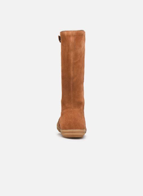 Laarzen Minibel Nillie Bruin rechts