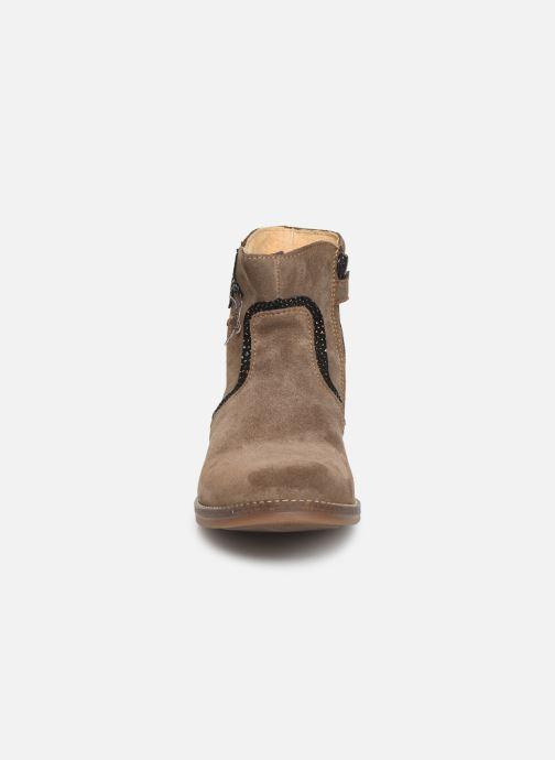 Bottines et boots Minibel Tilia Beige vue portées chaussures
