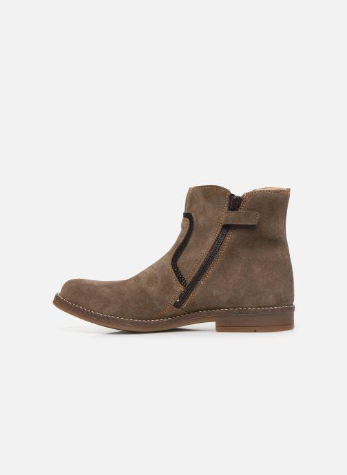 Boots en enkellaarsjes Minibel Tilia Beige voorkant