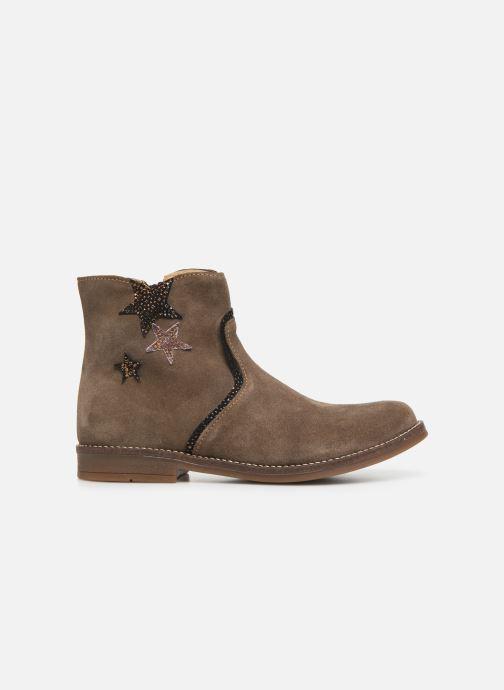 Boots en enkellaarsjes Minibel Tilia Beige achterkant