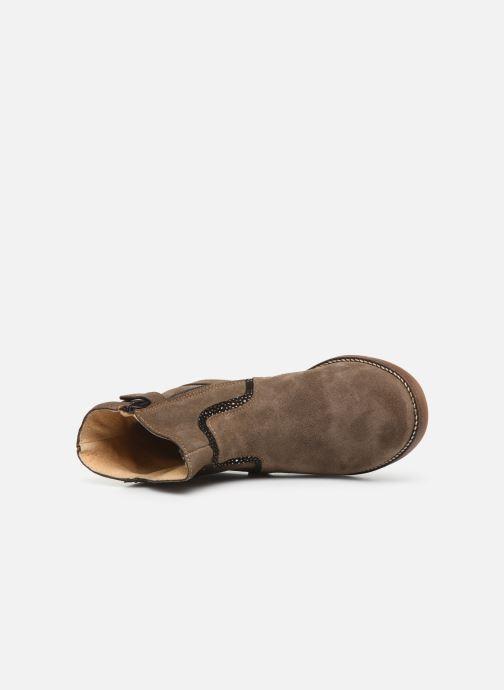 Bottines et boots Minibel Tilia Beige vue gauche
