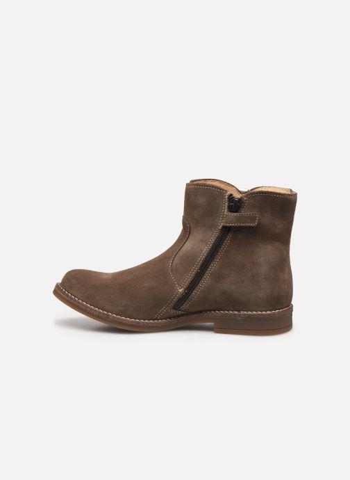 Bottines et boots Minibel Tiberia Beige vue face