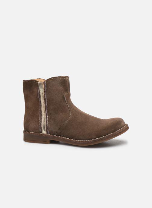 Bottines et boots Minibel Tiberia Beige vue derrière
