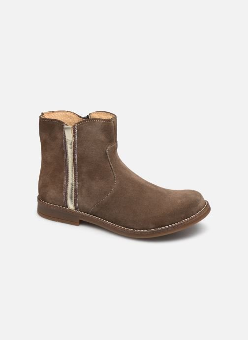 Bottines et boots Minibel Tiberia Beige vue détail/paire