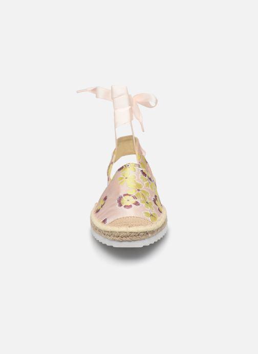 Espadrilles Vero Moda Vmaura Espadrille Rose vue portées chaussures