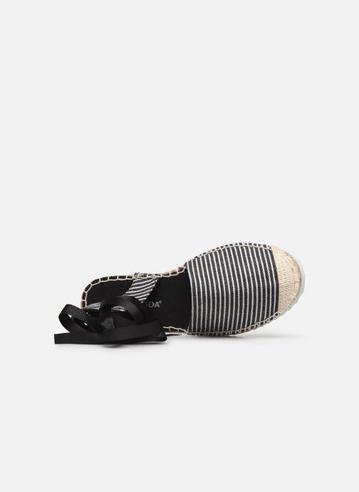 Scarpe di corda Vero Moda Vmaura Espadrille Nero immagine sinistra