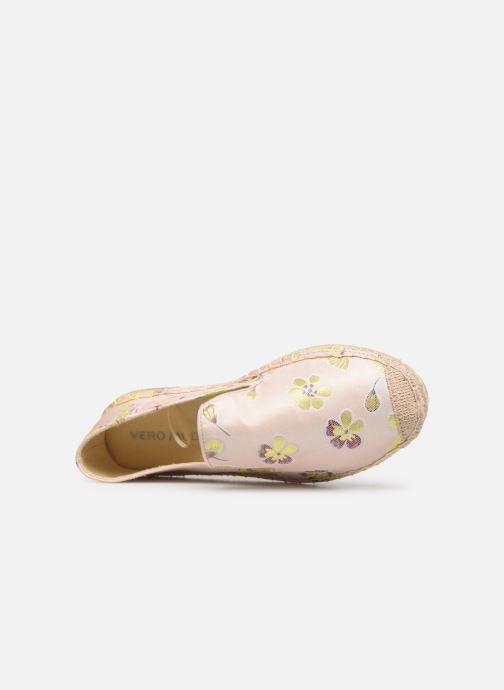 Scarpe di corda Vero Moda Vmcallie Espadrille Rosa immagine sinistra